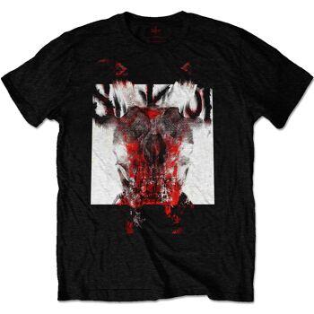 Slipknot Devil Logo Blur Front