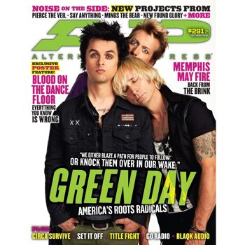 ALTERNATIVE PRESS 291.2 - Green Day Magazine