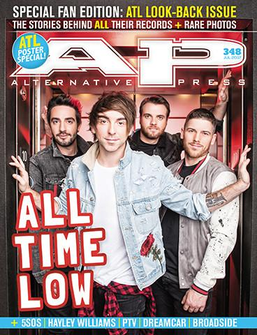 ALTERNATIVE PRESS 348 All Time Low Fan Issue Magazine