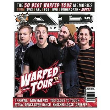 ALTERNATIVE PRESS 349.2 Warped Tour Magazine