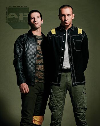 ALTERNATIVE PRESS 362.2 Twenty One Pilots Magazine