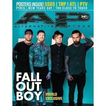 ALTERNATIVE PRESS Fall Out Boy 347.2 Magazine