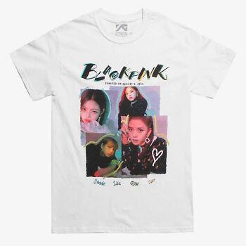BLACKPINK Neon Logo Black