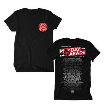 MAYDAY PARADE AP Tour 2015 Tshirt