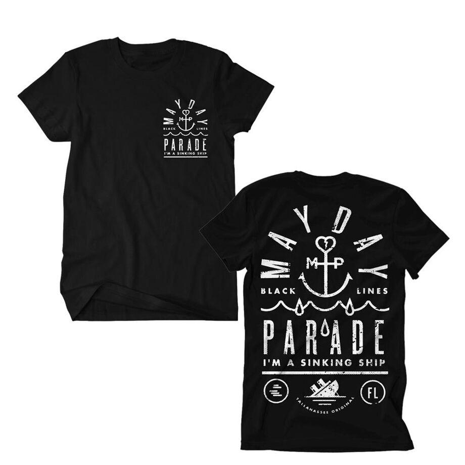 MAYDAY PARADE Sinking Ship Tshirt