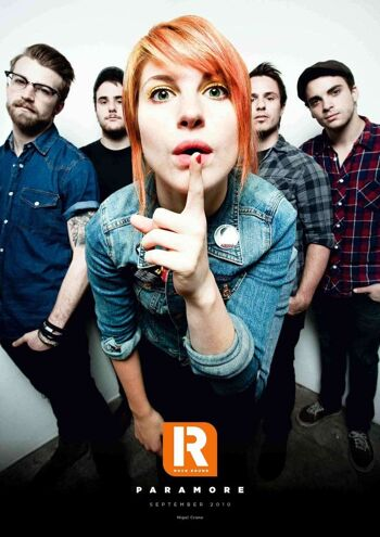 ROCKSOUND 250.8 - Paramore Magazine