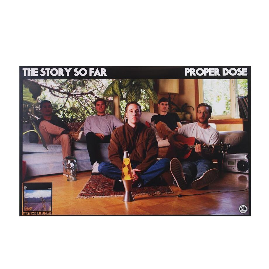 THE STORY SO FAR Proper Dose (Folded) *SALE Posters