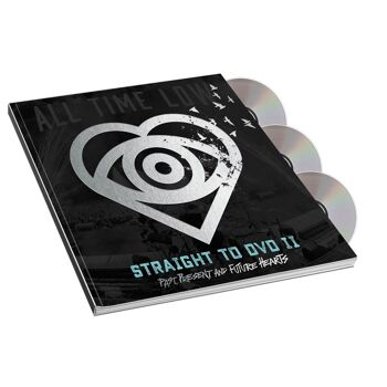 ALL TIME LOW Straight To DVD II: Past, Present And Future Hearts Standard /DVD Photobook