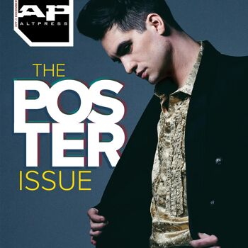 ALTERNATIVE PRESS Brendon Urie Poster Issue 377 Magazine