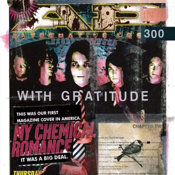 ALTERNATIVE PRESS My Chemical Romance 300.2 Big Version Magazine