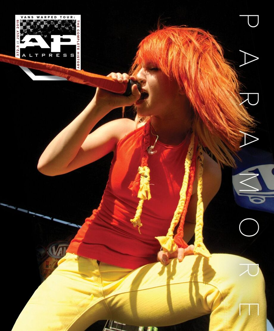 ALTERNATIVE PRESS Paramore 372 Magazine