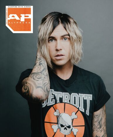 ALTERNATIVE PRESS Sleeping With Sirens 374.1 Magazine