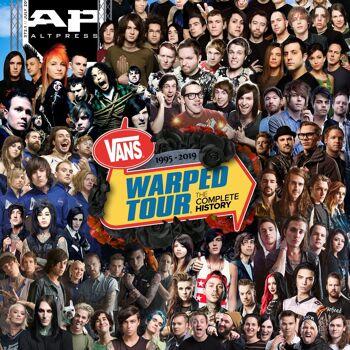 ALTERNATIVE PRESS Vans Warped Tour 372 Magazine