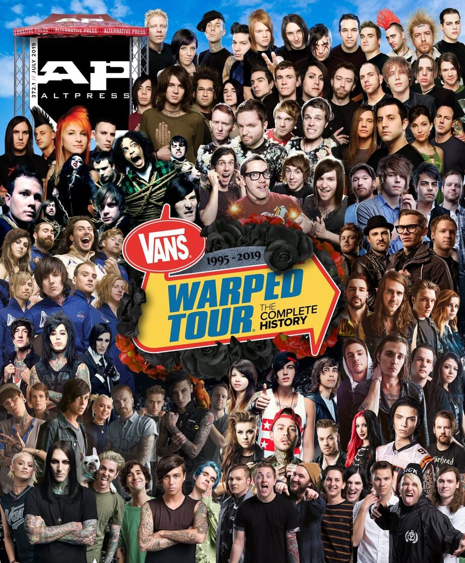 ALTERNATIVE PRESS Vans Warped Tour 372 Magazine