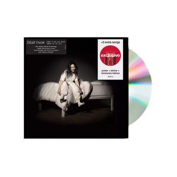 CD Philippines BILLIE EILISH When We All Fall Asleep Where Do We Go Target Edition