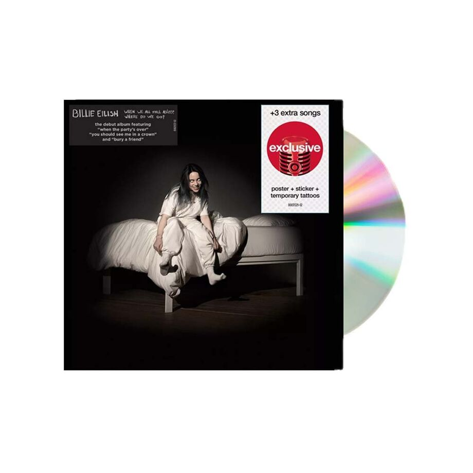 CD Philippines BILLIE EILISH When We All Fall Asleep Where Do We Go Target Edition