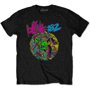 BLINK 182 Overboard Black Tshirt