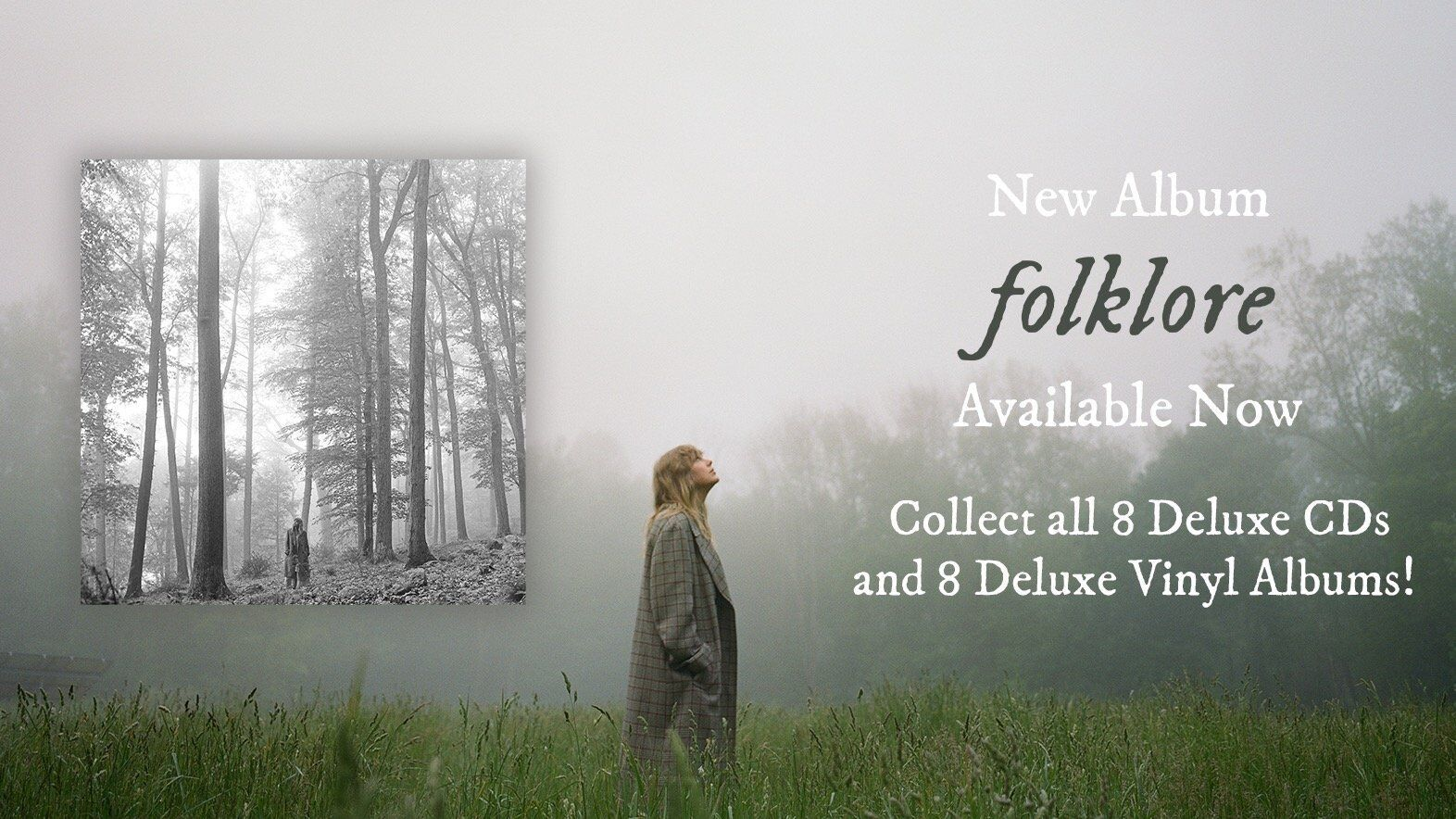 PREORDER Taylor Swift's 'Folklore' In The Philippines 🌳