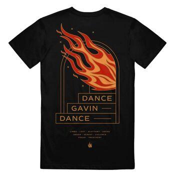 Dance Gavin Dance Stairway Tshirt Back