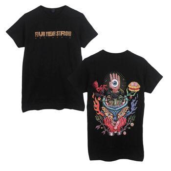 Four Year Strong Brain Pain Album Black Tshirt
