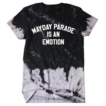 Mayday Parade Emotion Tie Dye Tshirt