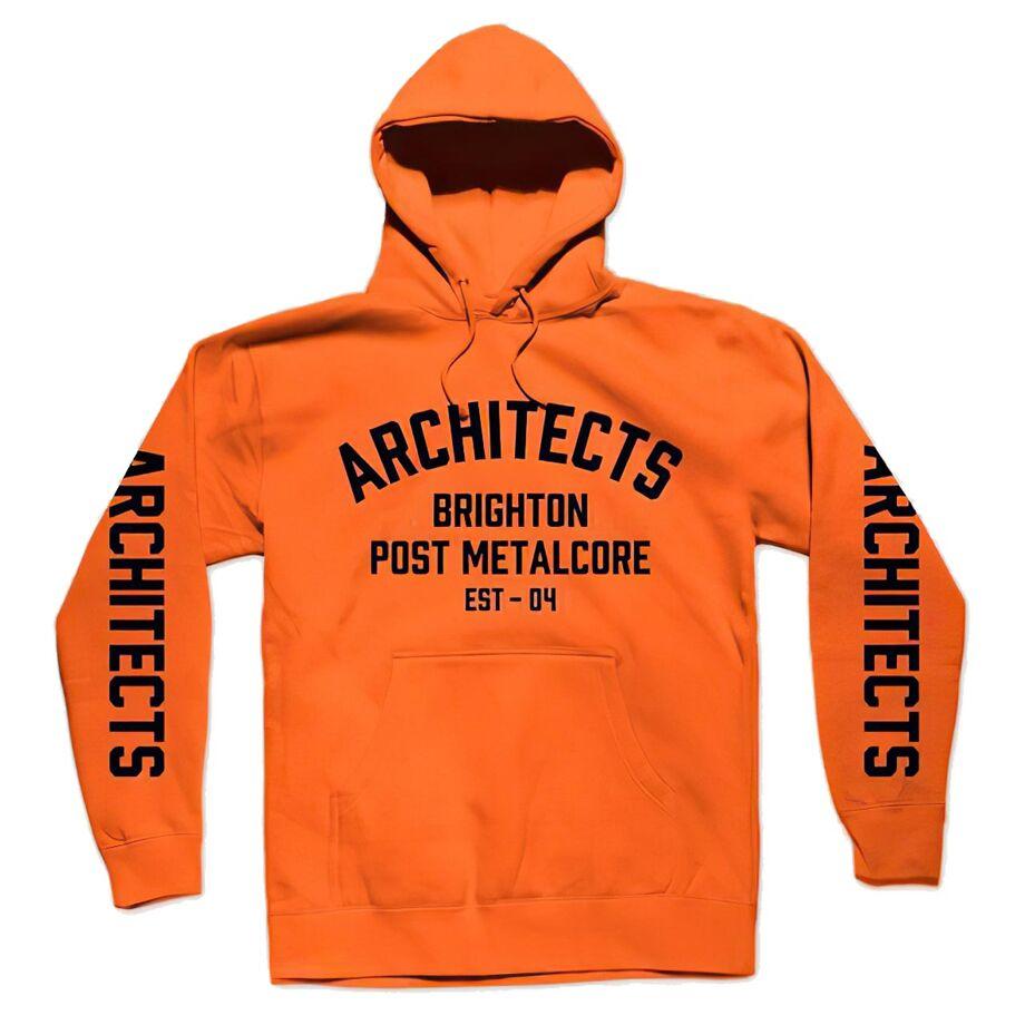 Architects Brighton Orange Pullover