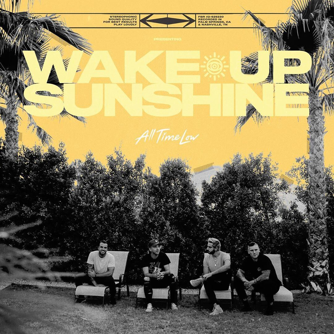 ALL TIME LOW'S new album 'WAKE UP, SUNSHINE' Preorder in the Philippines