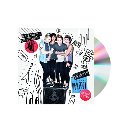 5 Seconds of summer she looks so perfect us cd