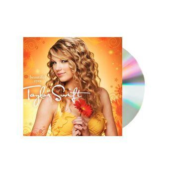 Taylor Swift Beautiful Eyes CD DVD