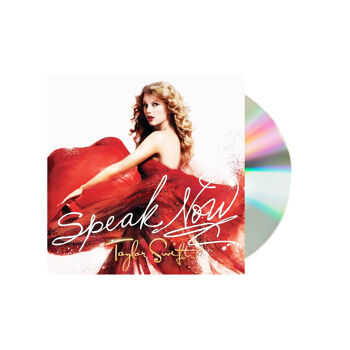 Taylor Swift Speak Now Deluxe Edition CD