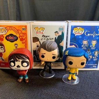 PANIC! AT THE DISCO's BRENDON URIE FUNKO POP IS COMING SOON!