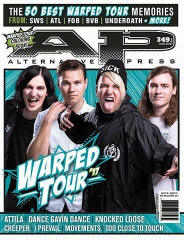 ALTERNATIVE PRESS 349.1 Warped Tour Magazine