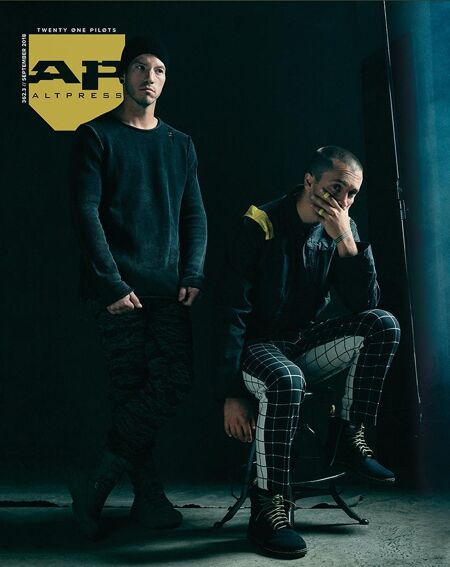 ALTERNATIVE PRESS 362.3 Twenty One Pilots Magazine