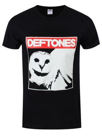 DEFTONES Diamond Owl Tshirt