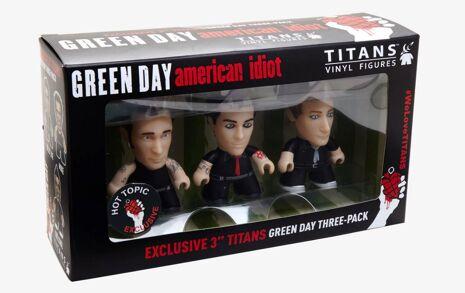 GREENDAY American Idiot Titans Toys
