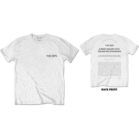 THE 1975 Abiior Welcome White Tshirt