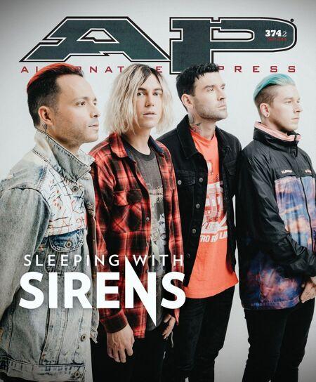 ALTERNATIVE PRESS Sleeping With Sirens 374.2 Magazine