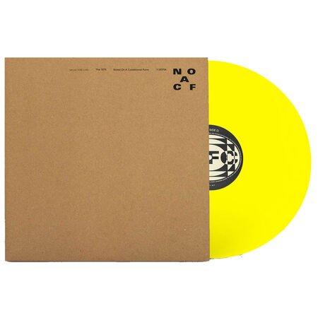 The 1975 Notes On A Conditional Form Yellow Vinyl