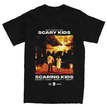 Scary Kids Scaring Kids Album Cover Tshirt