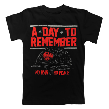 A Day To Remember No War Tshirt